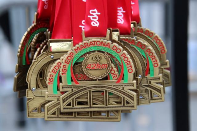 Médaille de la 16 édition du EDP Marathona Do Porto, Portugal