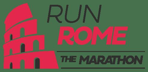 Logo Run rome The marathon
