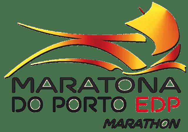 Logo maratona do porto edp marathon portugal.