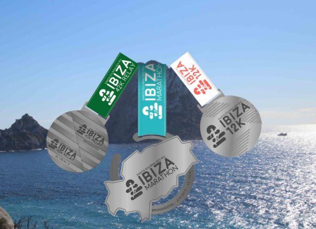 Médailles du marathon d'Ibiza